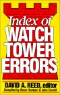 Index of Watch Tower Errors
